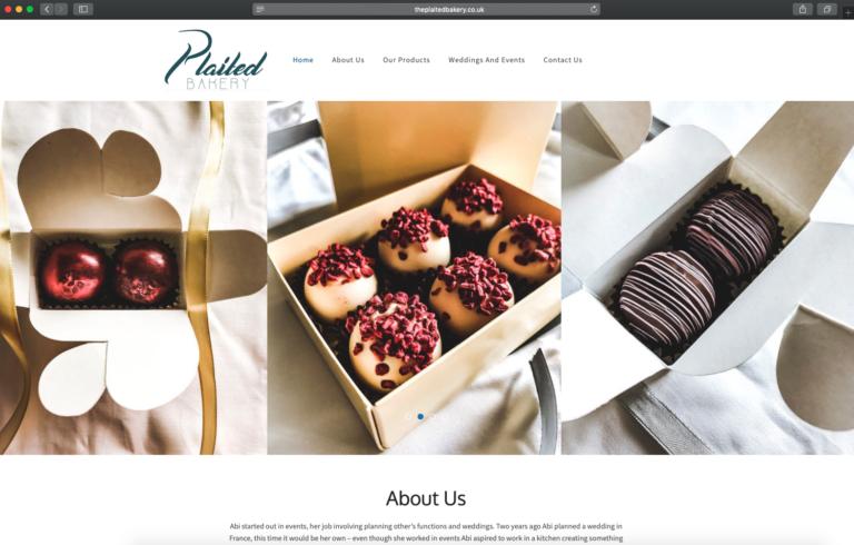 The Plaited Bakery Website