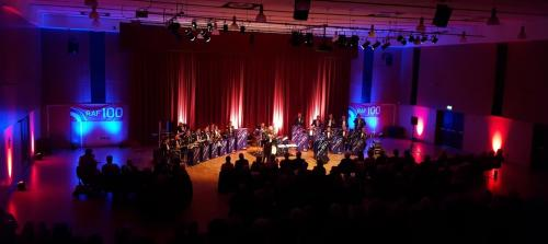 RAF Swing Wing Centenary Concert Event Support