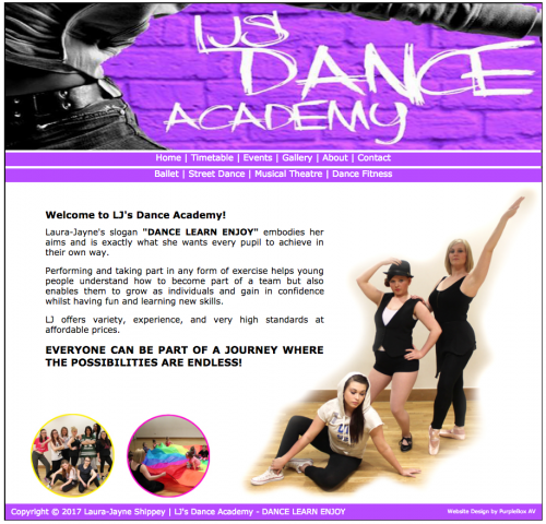 ljs-dance-academy-website
