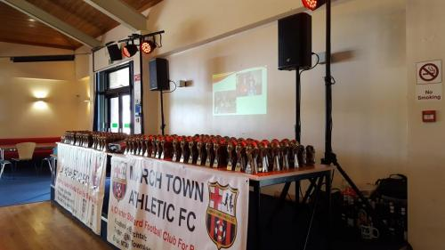 Sound & Lighting Package for Presentation Evening